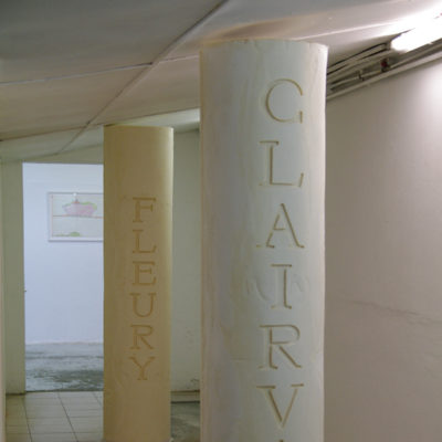 colonnes couloir